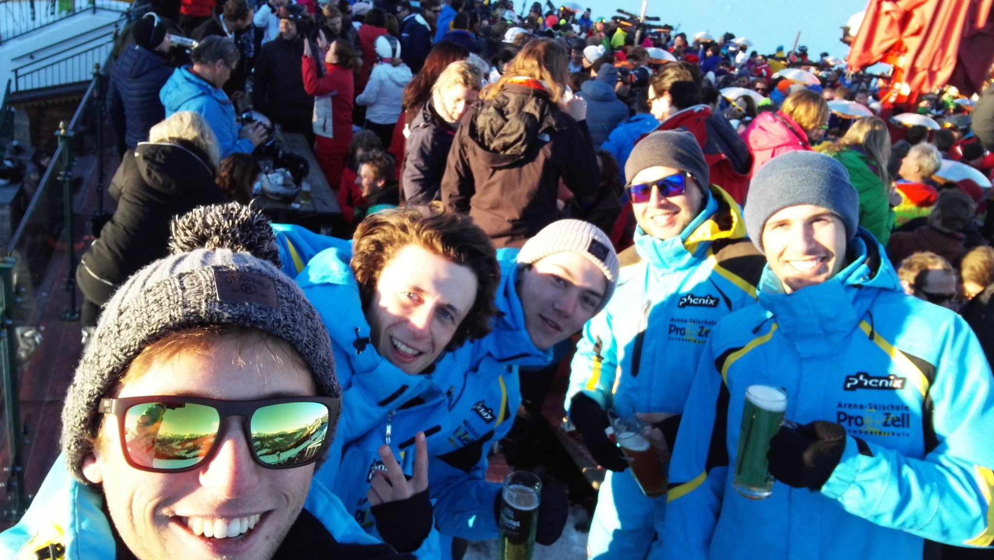 Sjoerd in skilerarenpak